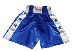 Training Boxing Trunks - Blue taekwondo sanda boxing training target black red size m