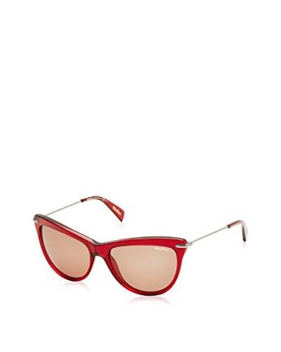 Max Mara Gafas de Sol EDGY I_8WX-56 (56 mm) Rojo / Plateado