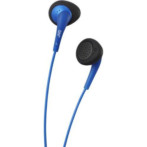 Jvc Jvc Ha-F240 Gumy Air Fit Earphones - In Ear Headphones Silicon Fitting - Blue