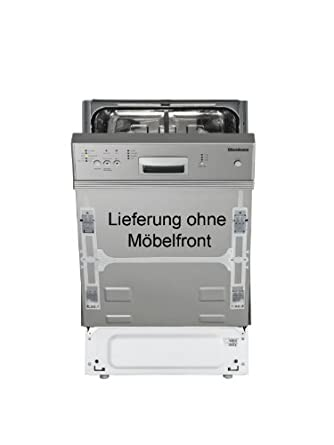 Blomberg GIS 9260 X Teilintegrierter Geschirrspuler Einbau AA 091 KWh 10 MGD 12 L Ohne Mobelfront Edelstahlblende Fingerprint Free 45 Cm