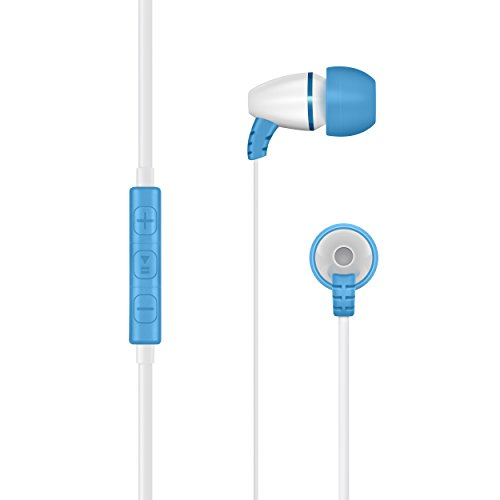 LilGadgets BestBuds Volume Limited In-Ear Style Headphones with Mic for Children (includes carrying case)