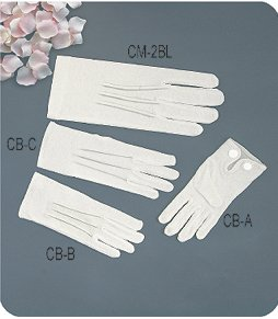COTTON DRESS GLOVES FOR MEN [MODEL CM-2BL][ BLOW OUT BIG SALE!!!], X-LARGE