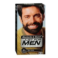 Just For Men Mustache and Beard Brush-In Color Gel, Blond
