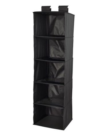 ikea skubb hanging clothes closet storage organizer rack black b001qmmk18. Black Bedroom Furniture Sets. Home Design Ideas