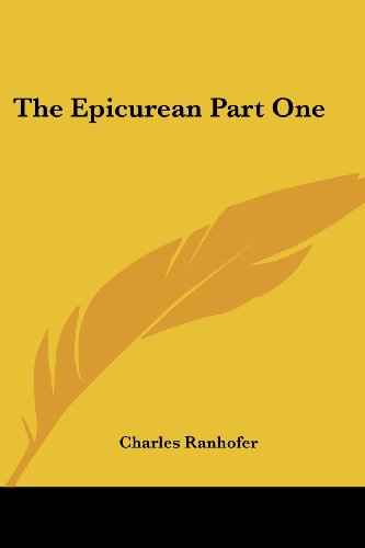 The Epicurean Part One PDF