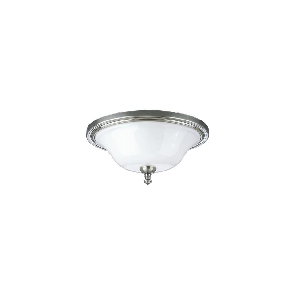 Victorian Pearl Nickel Flush Mount Finish Brushed Nickel