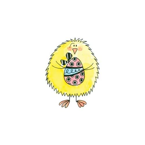 Penny Black Rubber Stamp 2X2.25 Chick & Egg; 2 Items/Order