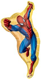 Spiderman Super Shape Mylar Party Balloon - 1
