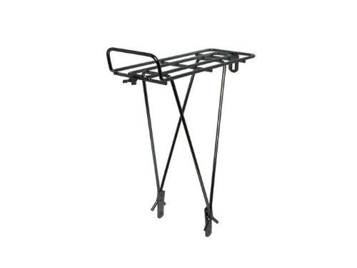 Wald Rear Bike Rack, Black front-898264