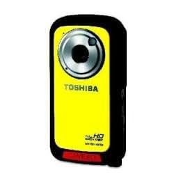Toshiba Camileo BW10 Sportcam 5MP Full HD Waterproof Digital Camcorder - Yellow