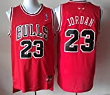 Chicago Bulls, Michael Jordan Nike Jersey Red.. Mens Large