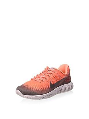 Nike Zapatillas Wmns Lunarglide 8 Shield (Naranja)