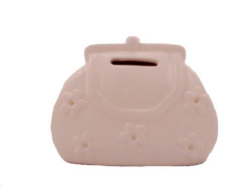 WeGlow International Ceramic Purse Bank with Set of 10 Markers