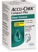 Accu-chek Compact Plus Clear Control Solution Level 1 and Level 2
