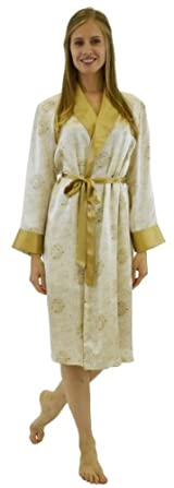 Silk Long Robe - Imperial Gold