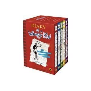 The Diary Of A Wimpy Kid, Vol 1 to 5