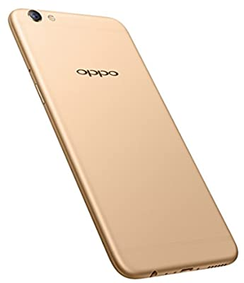 Oppo F3 Plus (Gold) - with Selfie Stick and Photo Frame