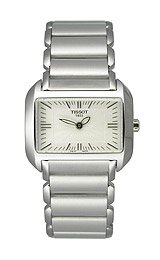 Tissot T-Wave Steel Bracelet Silver Dial Women's Watch #T023.309.11.031.00