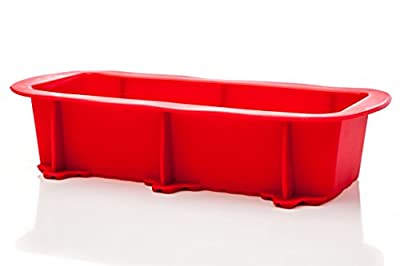 Silicone Bread Pan - Premium Non-Stick Loaf Baking Pan - High Grade Silicone - Fast Cooling & Highest Quality
