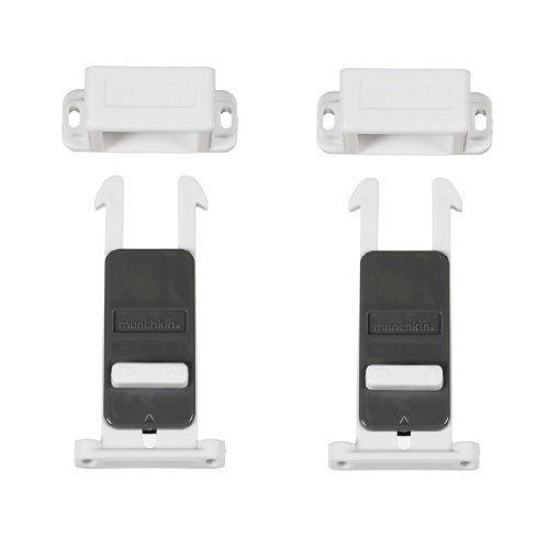 Munchkin XTRAGUARD Dual Locking Drawer Latches - 4 Count - 1