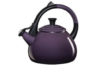 Le Creuset Enameled Steel Oolong Tea Kettle, 1.9-Quart, Cassis