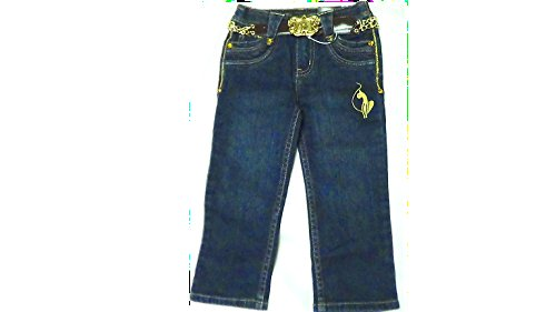 Baby Phat Little Girls Jeans with Belt Size 2T