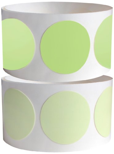 "ProTapes Pro Glow Dots Tape, 100"" Length x 1"" Width, 15 mils Thick, For Marking Glow In The Dark (Pack of 1)"