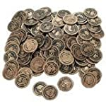 Plastic Gold Coins 144 ct [Toy]