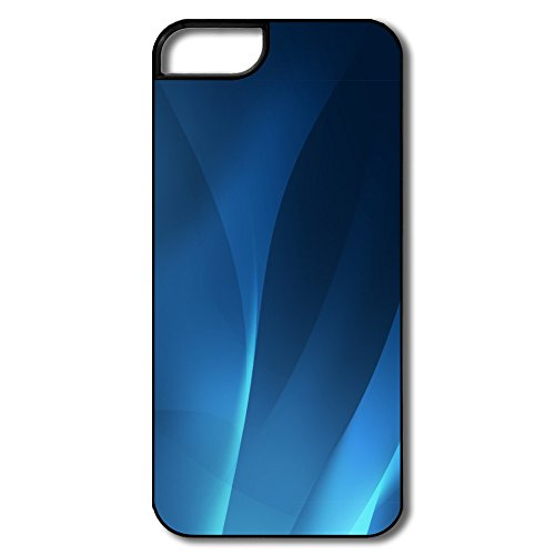 Aero Abstract Background Blue Pc Great Cover For Iphone 5/5S