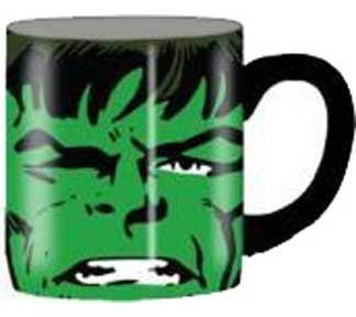 Silver Buffalo Marvel Comics The Hulk Close Up Ceramic Mug, 14 Ounces, Multicolored (MC7132)