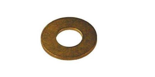 Brass Flat Washer, Plain Finish, DIN 125, Metric, M10 ...
