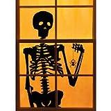 Martha Stewart Crafts Window/Door Cling Silhouette Skeleton