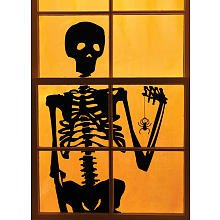 Martha Stewart Crafts Window/Door Cling Silhouette Skeleton