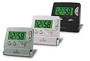 13352 Mini Lcd Flip Alarm Clock Pearl 13352 13352 By Acctim
