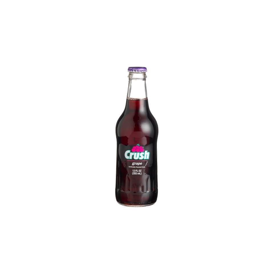 Crush GRAPE CRUSH LONGNECKS    good stuff, 12 Ounce Glass Bottle (Pack of 12)