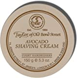 Taylor of Old Bond Street Avocado Shaving Cream Screw Tread Pot 150gr