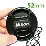 SUPER 52MM SAFTEY LENS FILTER CAP FOR NIKON D3100 D3200 D5000 D60 D40 18-55MM 52MM