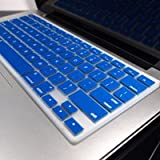 "TopCase® ROYAL BLUE Keyboard Silicone Cover Skin for Macbook 13"" Unibody / Macbook Pro 13"" 15"" 17"" with or without Retina Display+ TopCase®Mouse Pad"
