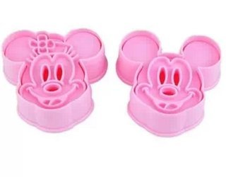Allforhome Mickey Mouse Cookie Cutter Embossing Tool