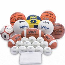 Multi-Sport Ball Pack by Voit