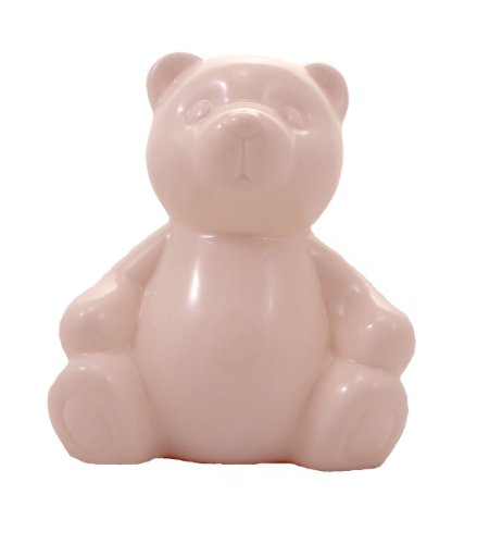 WeGlow International Ceramic Bear Bank with Set of 10 Markers