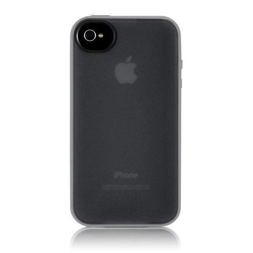 Belkin Essential 050 iPhone 4 Case, Compatible with iPhone 4S (Black / White)