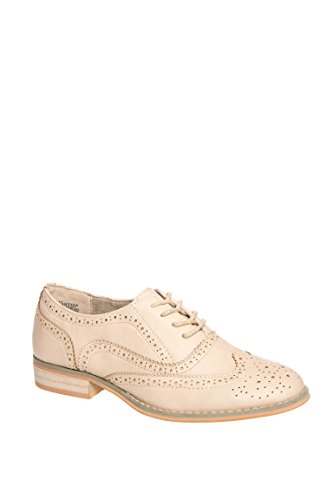 Wanted Womens Babe Brown Tan Oxford - 8