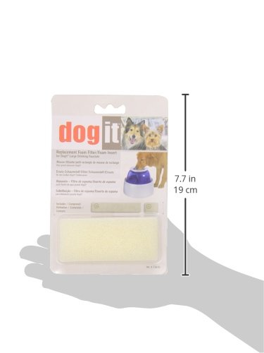 Dogit Replacement Foam Insert For Fresh Clear Large Dog