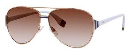 Fendi Fd 0018 Sunglasses 07Rw Peach Brown