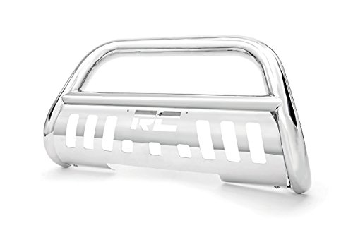 Rough Country - B-J1101 - Stainless Steel Bull Bar (2013 Jeep Wrangler Bull Bar compare prices)