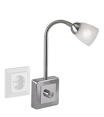 paul neuhaus wandleuchte flexleuchte plug in f r steckdosen dc217. Black Bedroom Furniture Sets. Home Design Ideas