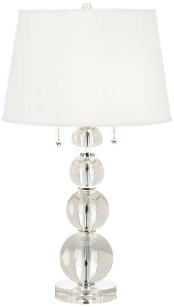 Vienna Full Spectrum Stacked Crystal Spheres Table Lamp