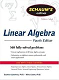 img - for Schaum's Outline of Linear Algebra (Schaum's Outline Series) 4th (forth) edition book / textbook / text book