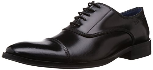Pavers England Pavers England Men's Leather Formals And Lace-Up Flats (Multicolor)